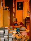 地震後の部屋